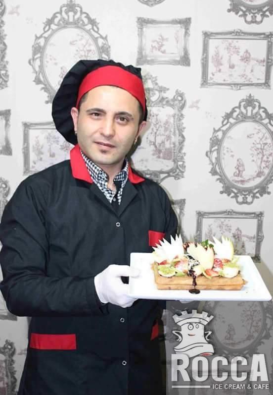 Cafe RoccA Dereboyun'da; Armağan Usta ve Angelo Ajansın Meleklerin'den Enfes Nutellalı Waffle ve Dondurma Şov!