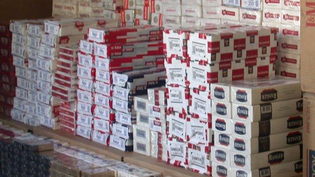 Polis Yaptığı Operasyonda Tam 1 Tır Dolusu 250 Karton Kaçak Sigara Zulasını Patlattı