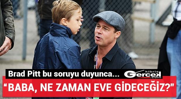 """Çocuklarını Karşısında Gören """"Brad Pitt"""" Gözyaşlarını Tutamadı!"""