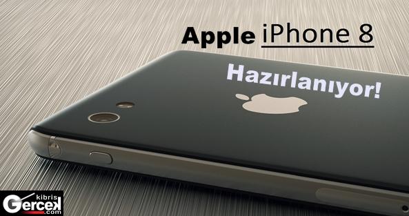 Apple iPhone 8'e Hazırlanıyor!