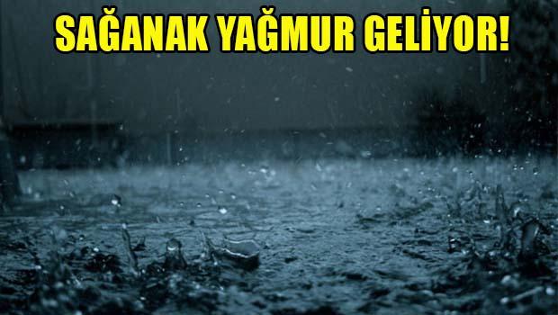 Dikkat Sağanak Yağmur Geliyor…
