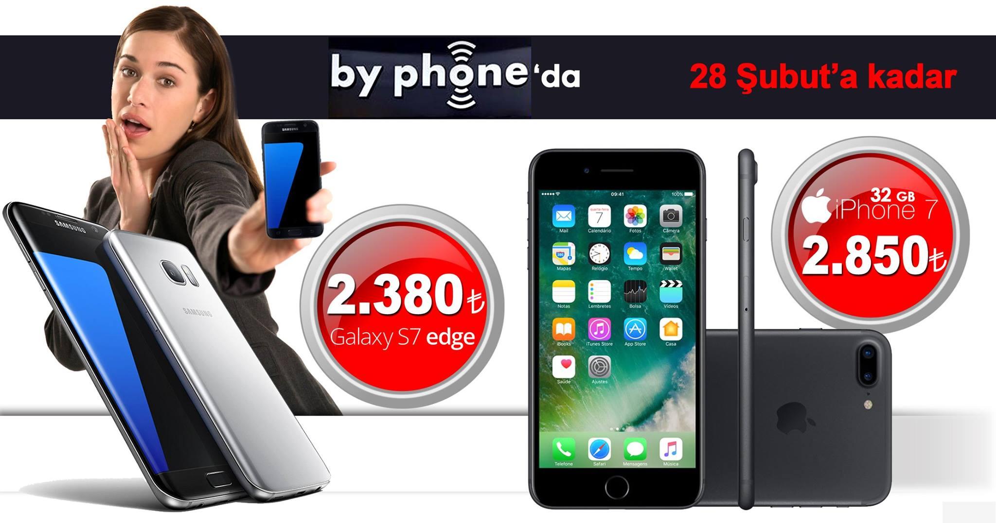 By Phone Sunar Samsung Galaxy S7 Edge ve iPhone 6s Plus'ı Karşılaştırdık Sizin ki Hangisi?