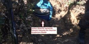 DİYARBAKIR'DA PKK'YA UYUŞTURUCU DARBESİ