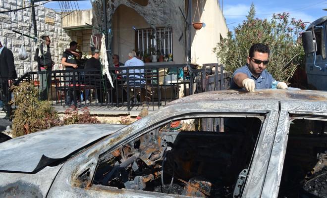 Hamitköy'de Kundaklama -Kıbrıs Gercek
