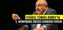 Tuğrul Türkeş Kıbrıs'a Geldi