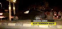 Sigortasız Araç Sürücüsü Olay Yerinden Kaçtı