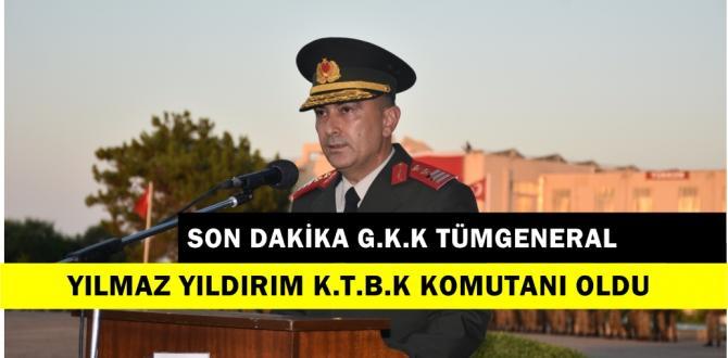 Son Dakika Kıbrıs Türk Barış Kuvvetleri Komutanlığına Atandı