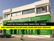 Güney Kıbrıs'taki Ofisinde Oturup, KKTC Bahis Piyasasının Kaymağını Yiyor.!