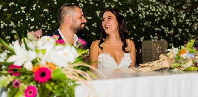 Burçin Aybars ve Nida Tüfekçi Çifti Geçtiğimiz Günlerde Muhteşem Bir Düğünle Dünya Evine Girdi