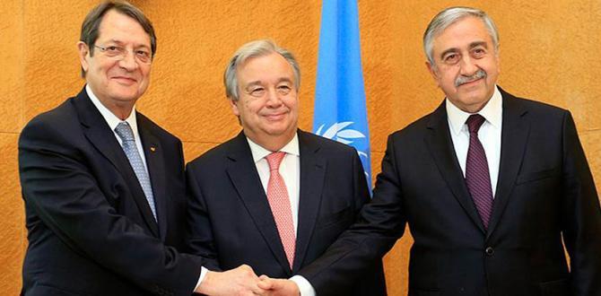 Guterres'in Kıbrıs'la İlgili Raporu Bugün Kesinleşecek!