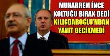 İnce'den Kılıçdaroğlu'na Flaş Teklif