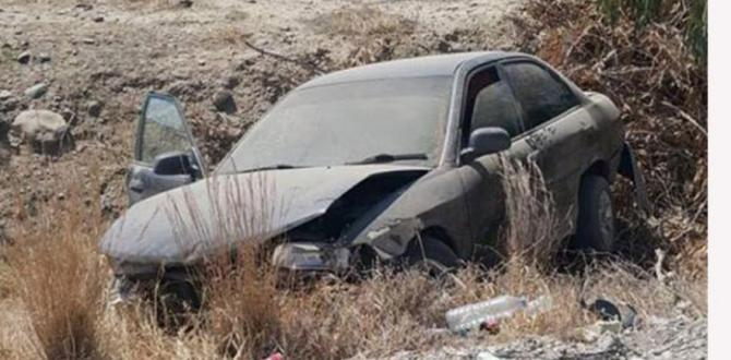 Lefkoşa-Mağusa Anayolu üzerinde kaza