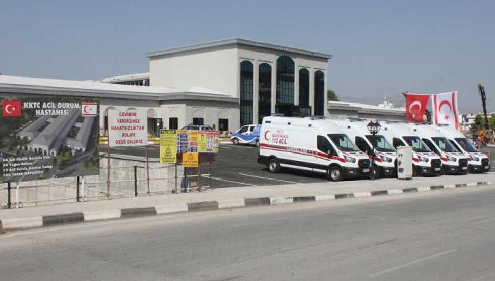 Lefkoşa Acil Durum Hastanesi Yeni Tip Koronavirüs Hastalarına Hizmet Vermeye Başladı.