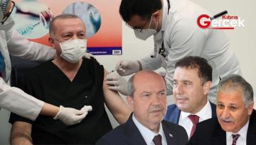 Erdoğan Covid-19 Aşısı Yaptırdı