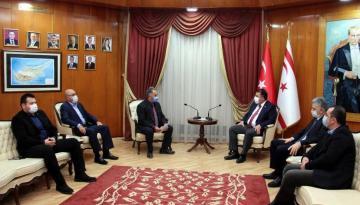Başbakan Ersan Saner KITSAB Başkanı Orhan Tolun Ve Yönetim Kurulunu Kabul Etti