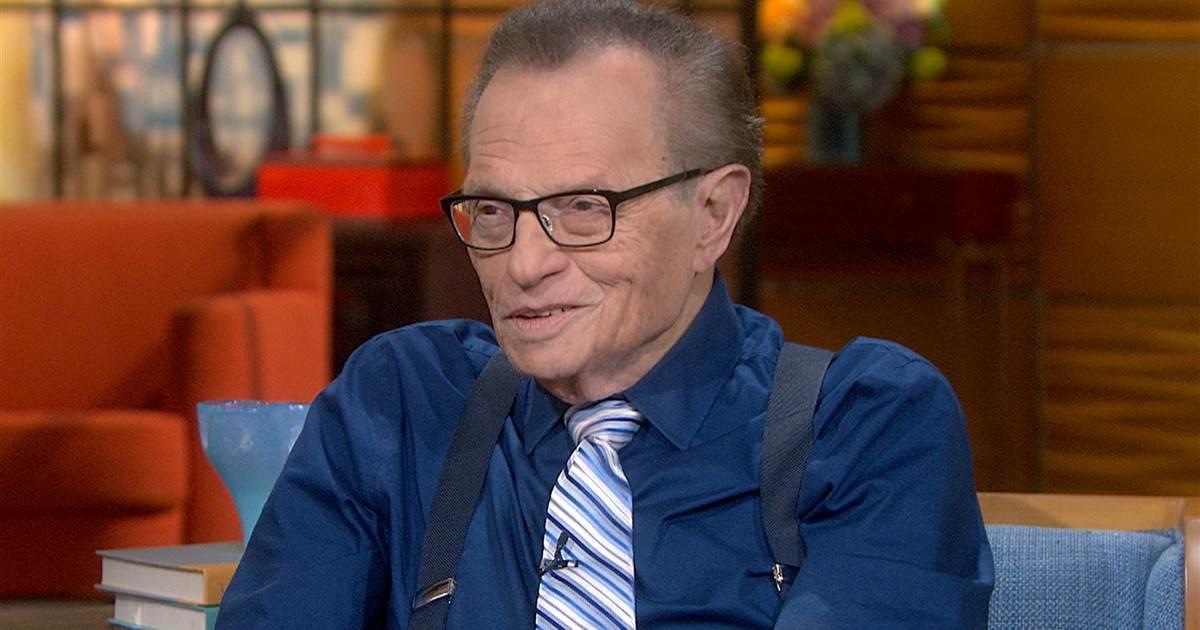 Dünyaca ünlü Amerikalı Sunucu Larry King Yaşamını Yitirdi.
