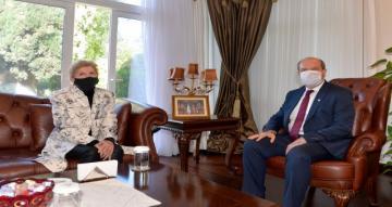 Cumhurbaşkanı Tatar ile Lute Arasındaki Görüşmenin Saati Belli Oldu