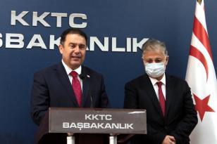 Başbakan Ersan Saner Ülkeye Gelen Covid-19 Aşısıyla İlgili Açıklama Yaptı