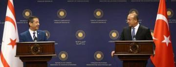"""Dışişleri Bakanı Tahsin Ertuğruloğlu """"Toplumlar Arası Görüşmeler Süreci Bitmiştir."""