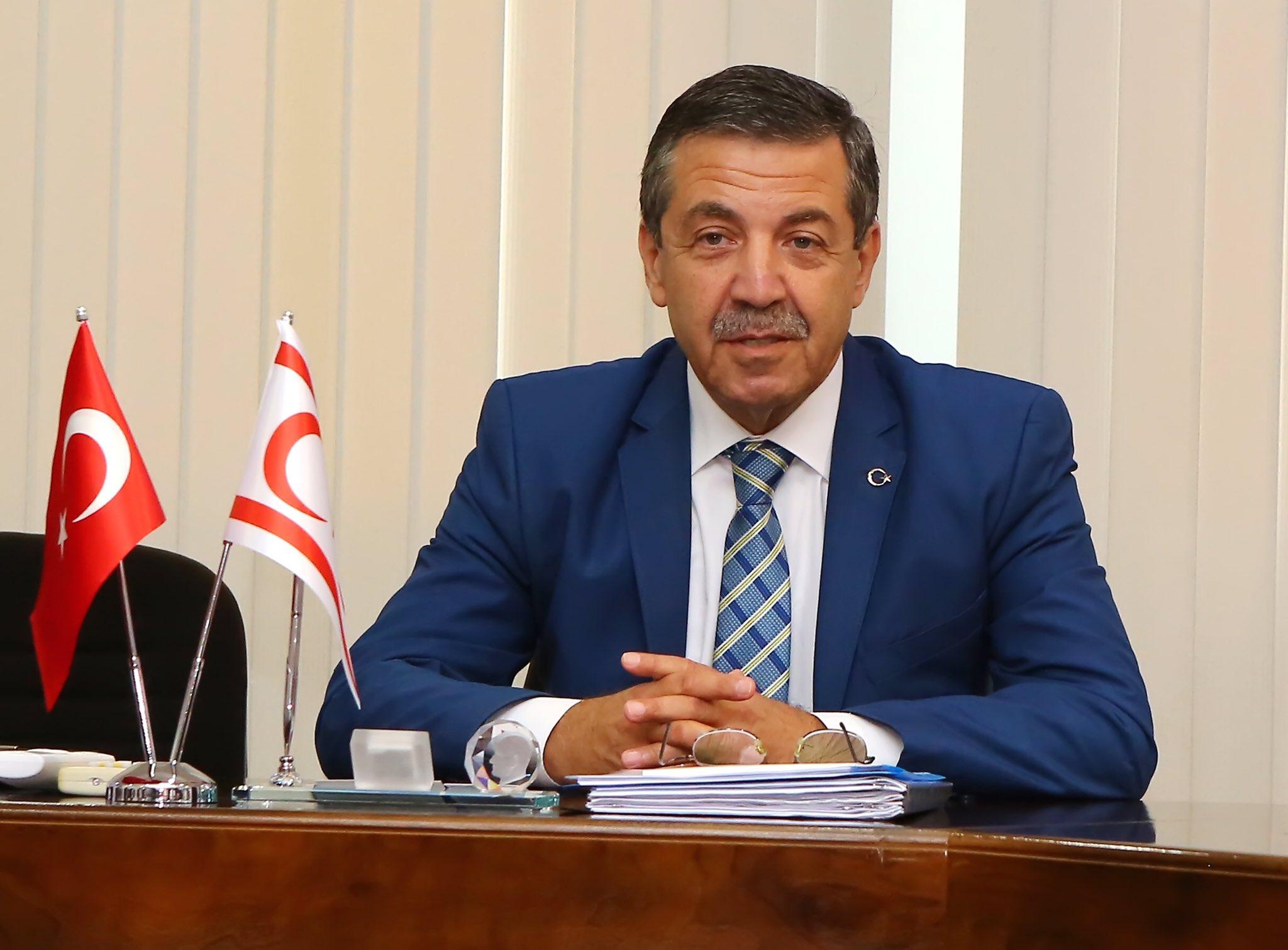 Ertuğruloğlu: Esas eleştirilmesi gereken, uluslararası camianın Kıbrıs politikasıdır