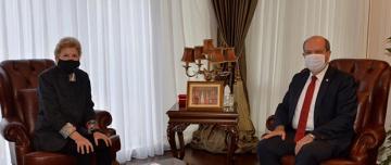 Cumhurbaşkanı Tatar-Lute Görüşmesi Başladı