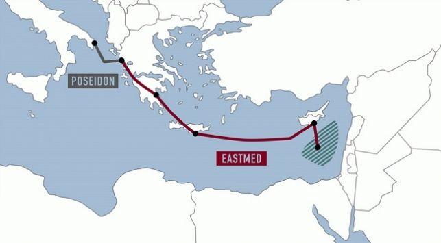 Güney Kıbrıs EASTMED'den Dışlanıyor…