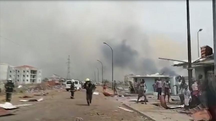 Ekvator Ginesi'nin Ekonomi Merkezi Bata Şehrinde 4 Büyük Patlama!