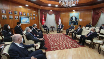 Başbakan Ersan Saner, KKTC'nin Yurt Dışına Bütün Açılımları Türkiye Üzerinden