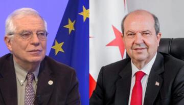 Cumhurbaşkanı Ersin Tatar, Bugün Josep Borrell Fontelles'i Kabul Edecek