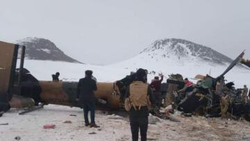 Milli Savunma Bakanlığı,11 Askerimizin Şehit Olduğu Helikopter Kazasının Sebebi Belli Oldu