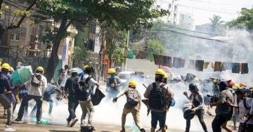 Myanmar'da Düzenlenen Protestolara Güvenlik Güçlerinden Silahlı Müdahale! Çok Sayıda Ölü Var