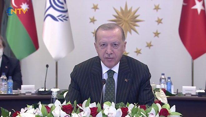 """Cumhurbaşkanı Recep Tayyip Erdoğan, """"Tüm Üyelerimizi, KKTC İle İlişkilerinizi Geliştirin Çağrısı Yaptı"""