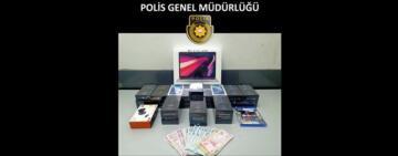 """""""Mobilelink"""" İsimli İş Yerini Soyan Soyguncular Polis Tarafından Yakalandı"""