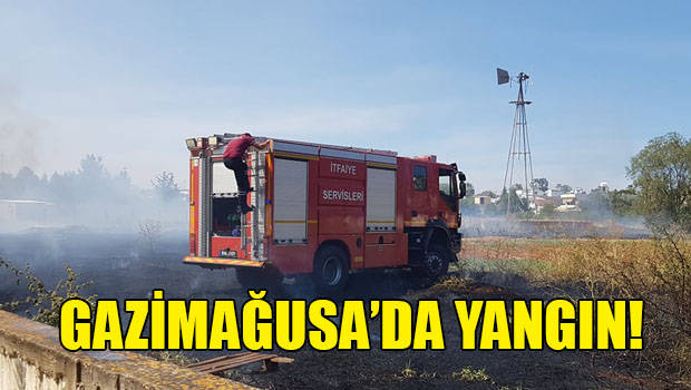 Gazimağusa Maraş Bölgesinde Yangın!