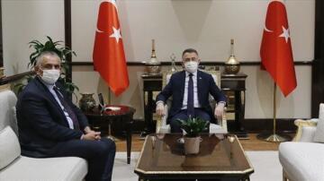 Tarım ve Doğal Kaynaklar Bakanı Nazım Çavuşoğlu, Türkiye Cumhurbaşkanı Yardımcısı Fuat Oktay İle Biraraya Geldi