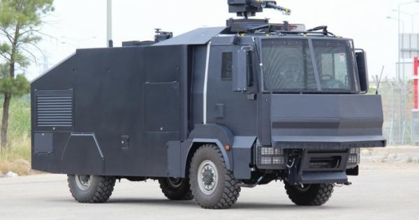 Rum polisine 5 yeni zırhlı isyan önleme aracı alınacak