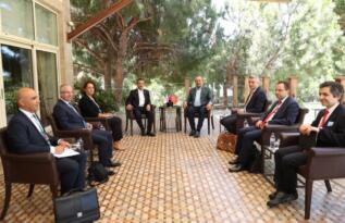 Ertuğruloğlu, Antalya'da Azerbaycan Dışişleri Bakanı Bayramov ile görüştü