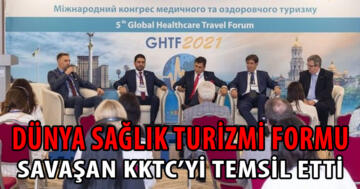 Ahmet Savaşan KKTC'yi temsil etti