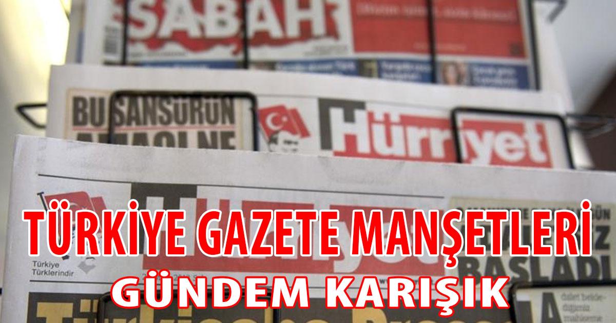 Türkiye Gazete Manşetleri (21 Haziran 2021)
