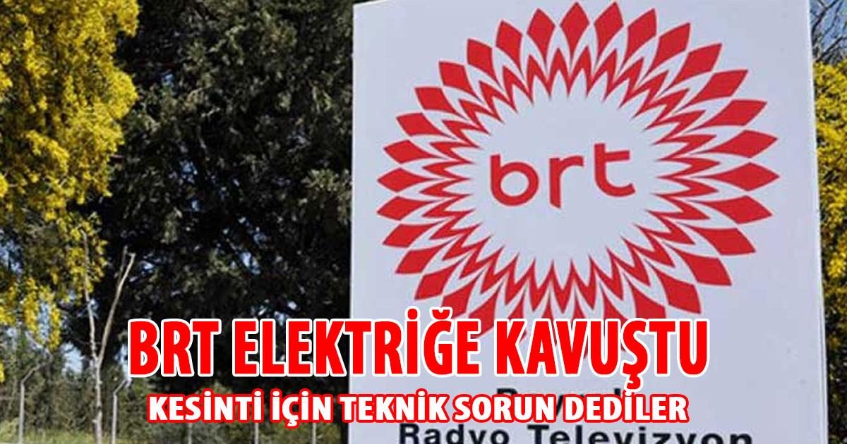 BRT elektriğe kavuştu