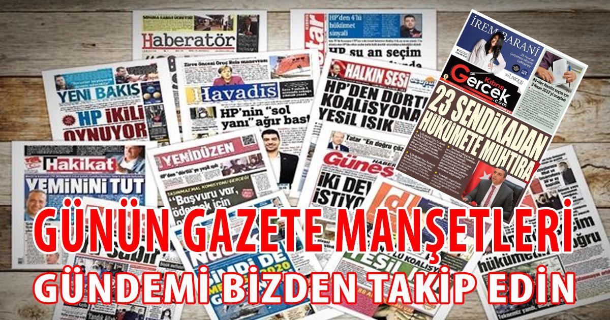 Gazete Manşetleri (23 Haziran 2021)