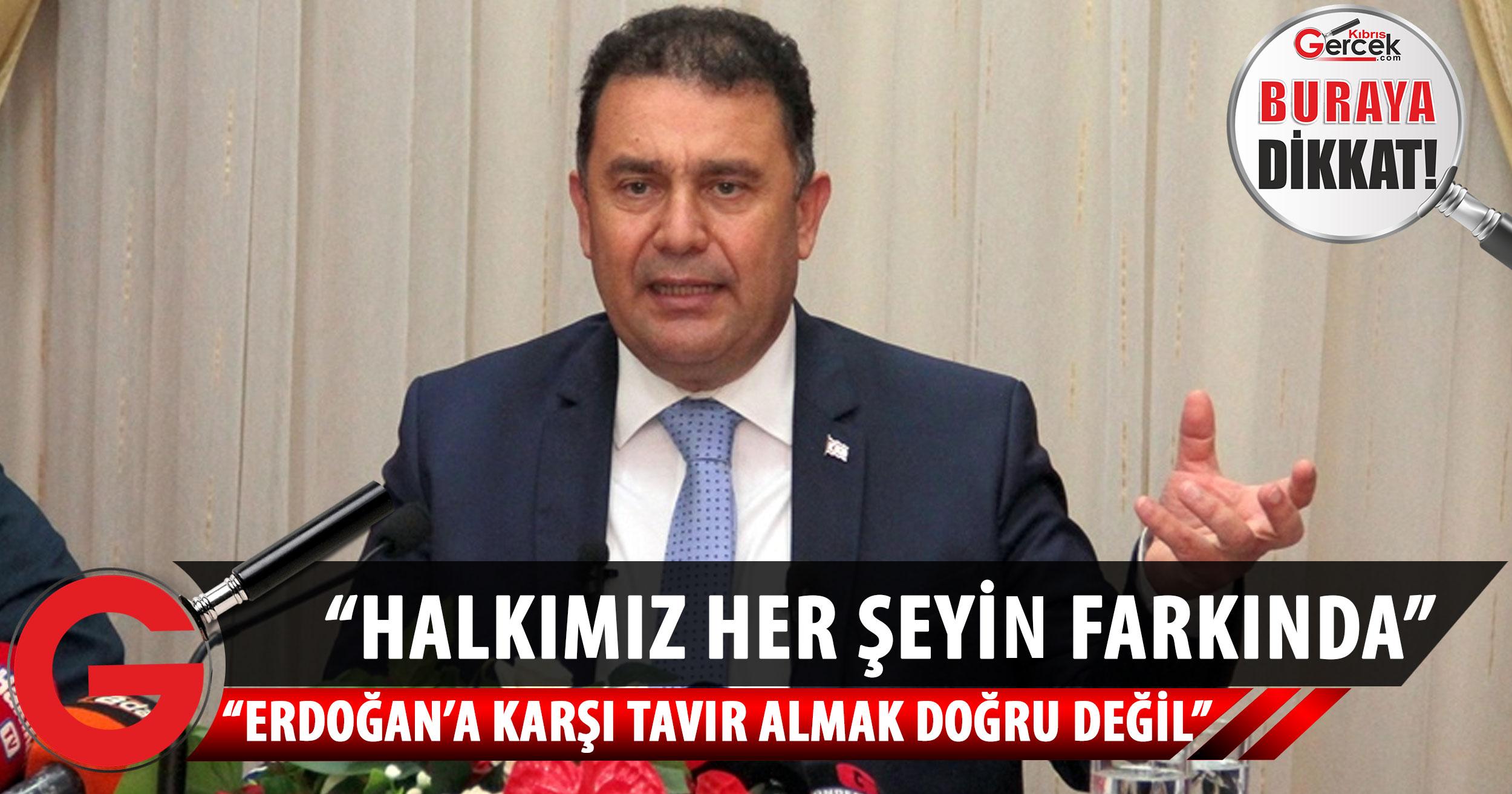 Saner: Türkiye Cumhuriyeti'ni temsil eden Cumhurbaşkanı'na karşı tavır almak doğru değil