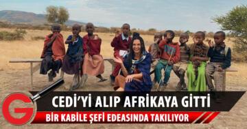 Ebru Şahin ile Cedi Osman Afrika'da
