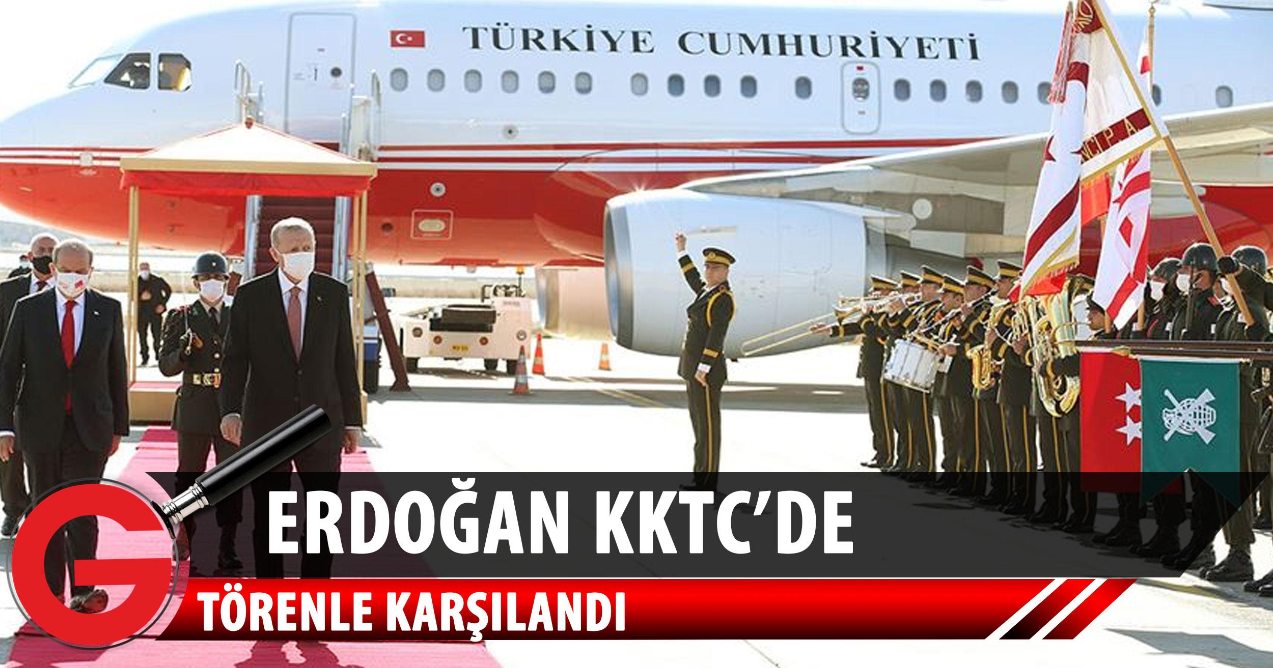Erdoğan KKTC'de