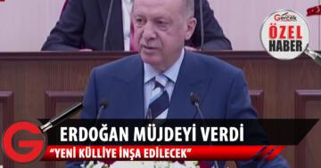 Cumhurbaşkanı Erdoğan 'çok yakında' deyip müjdeyi verdi