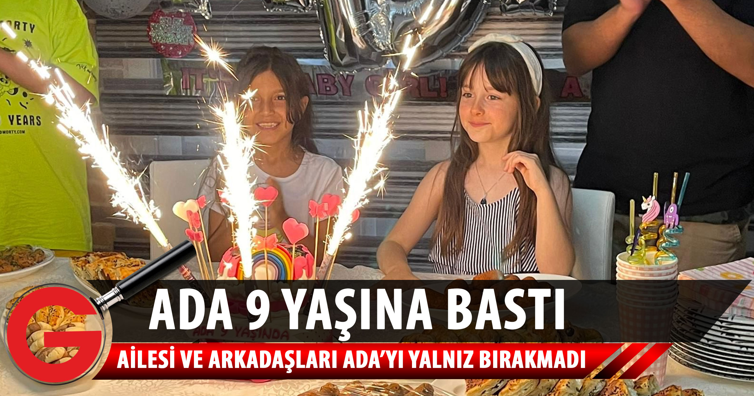 Ada, yeni yaşını sürpriz bir parti ile kutladı