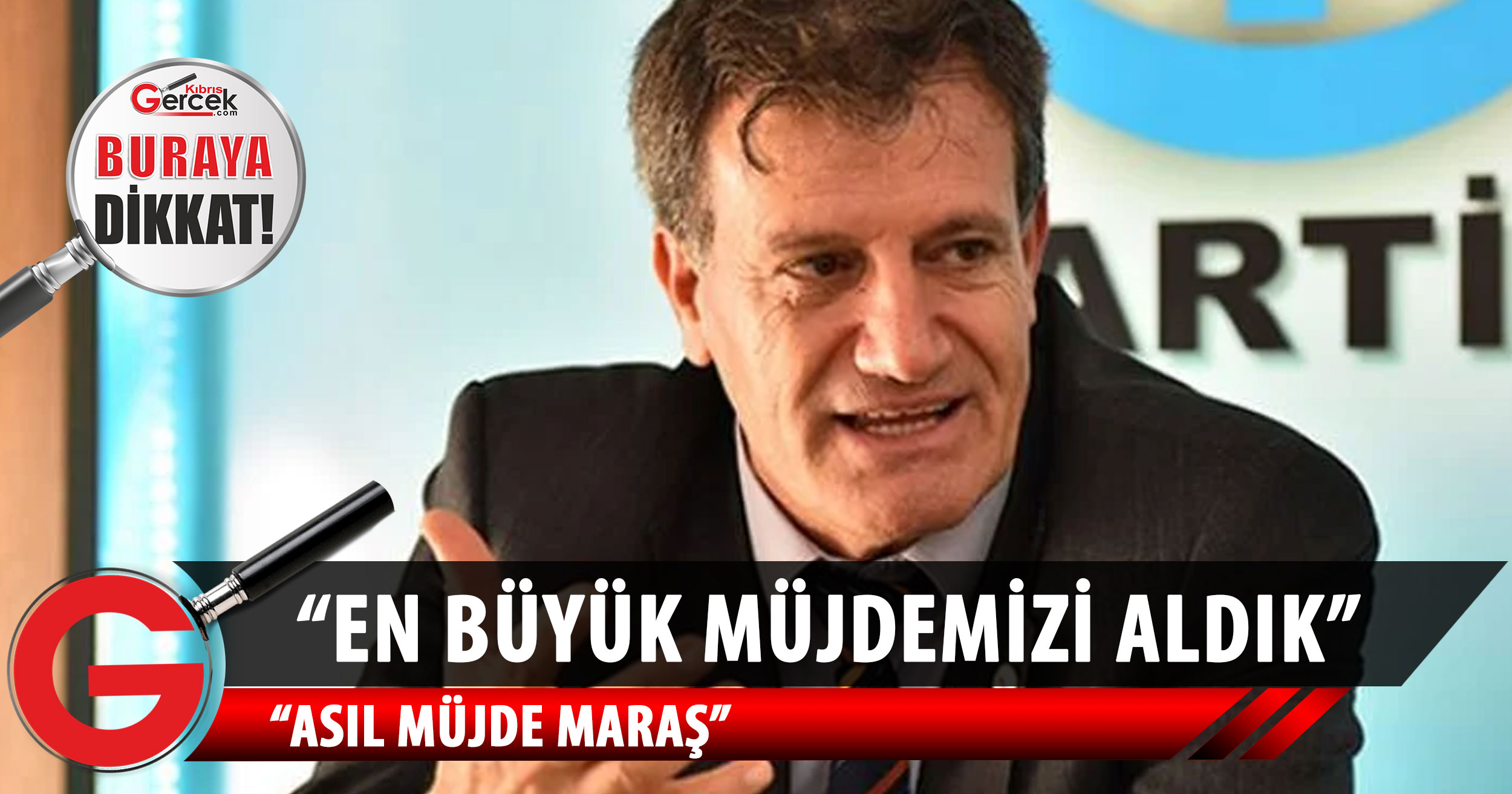 Erhan Arıklı: Maraş'tan daha büyük müjde mi olur?