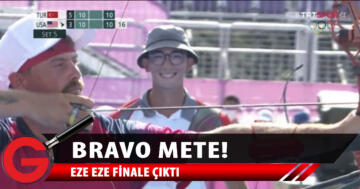 Mete Gazoz finalde