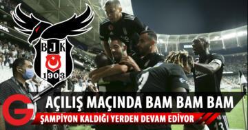 Beşiktaş, Rizespor'u 3 golle geçti