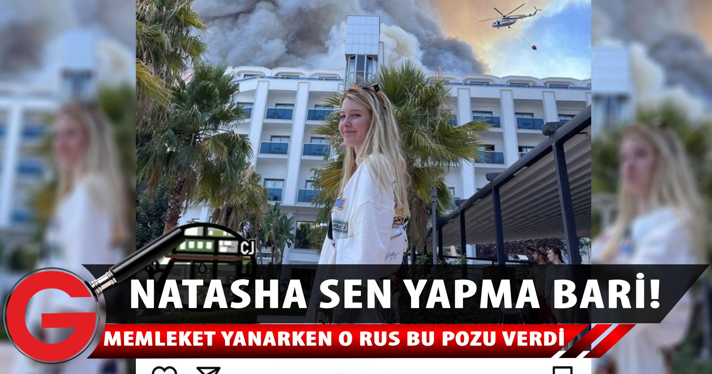 Rus şarkıcı, Antalya'daki yangını alaya alan paylaşım yaptı